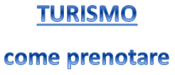 REGOLAMENTO/COME PRENOTARE