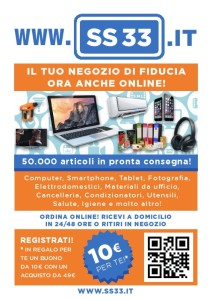 PRESENTAZIONE SHOP ON-LINE SS33