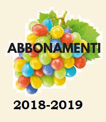 ABBONAMENTI TEATRALI stag. 2018-2019