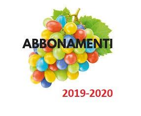 ABBONAMENTI TEATRALI 2019-2020