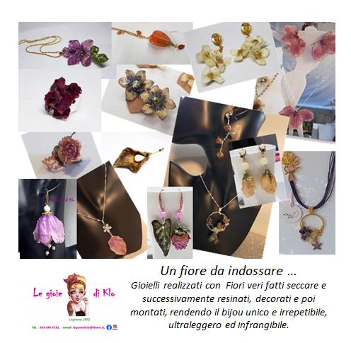 LE GIOIE DI KLO: un fiore da indossare …  Giovedì 5 marzo 2020 14.30-21.00